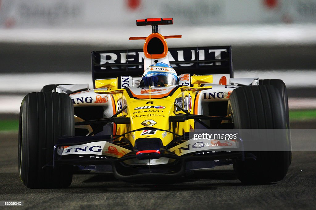 Singapore Formula One Grand Prix: Race : News Photo