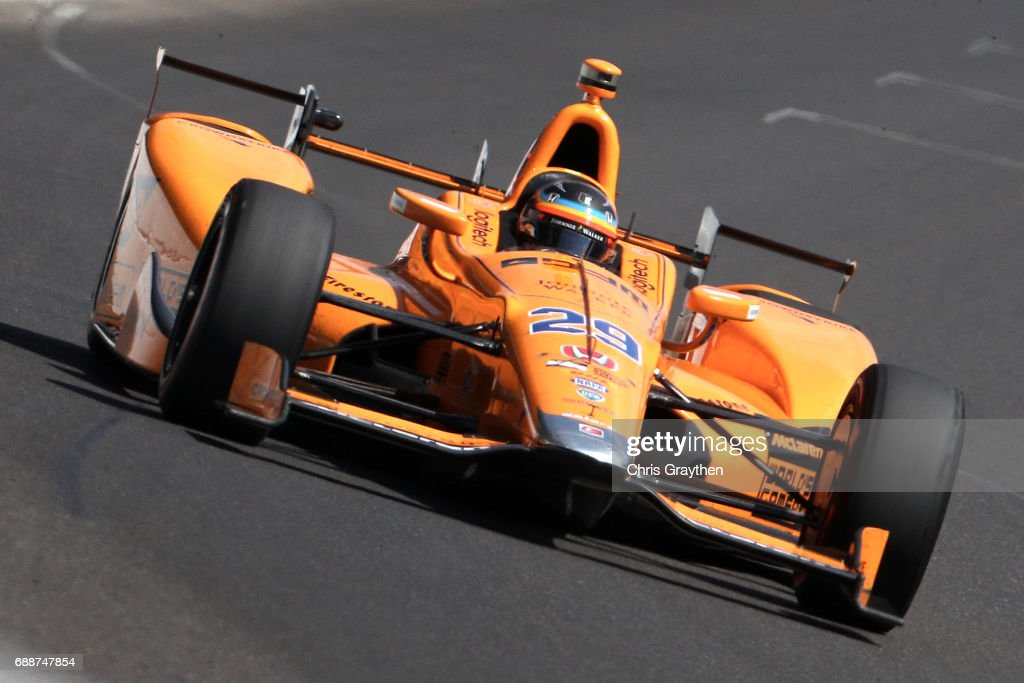 101st Indianapolis 500 - Carb Day : News Photo