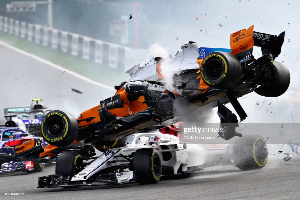 F1 Grand Prix of Belgium : News Photo