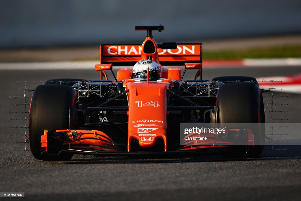 F1 Testing In Barcelona - Day One : News Photo