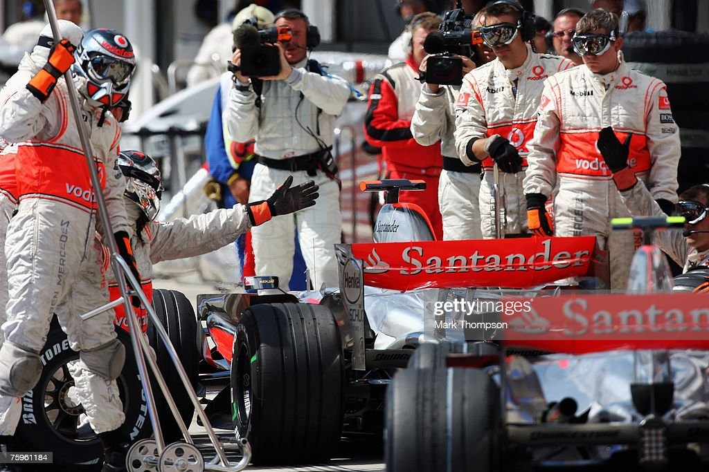 Hungarian F1 Grand Prix Qualifying : News Photo
