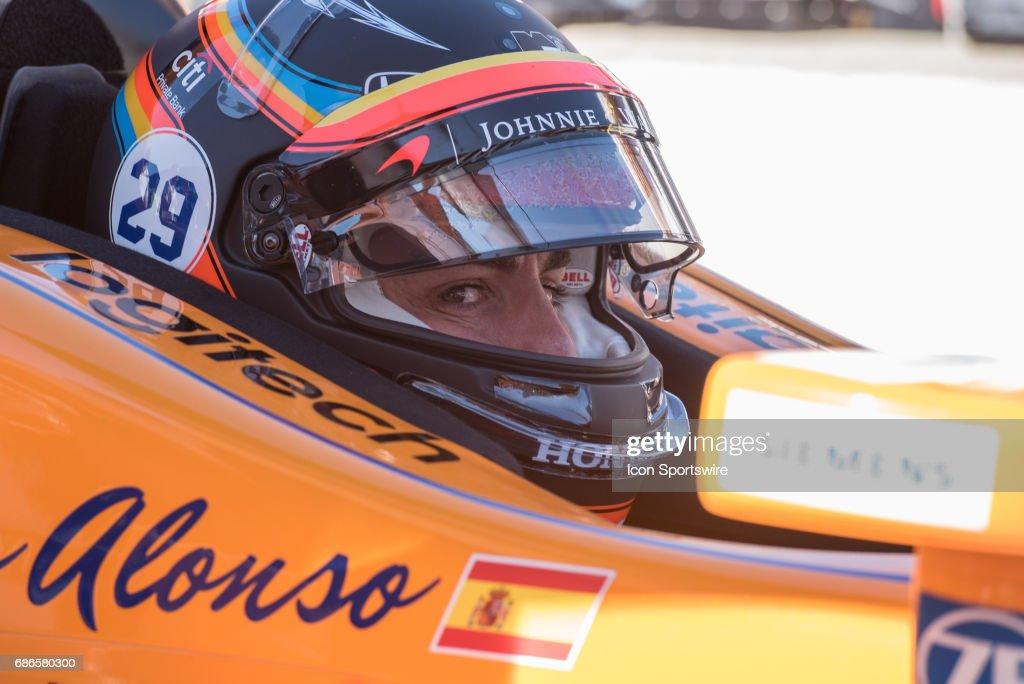 AUTO: MAY 21 IndyCar - Indianapolis 500