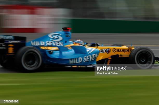 Fernando Alonso, Renault R26, Grand Prix of Australia, Albert Park, Melbourne Grand Prix Circuit, 02 April 2006.