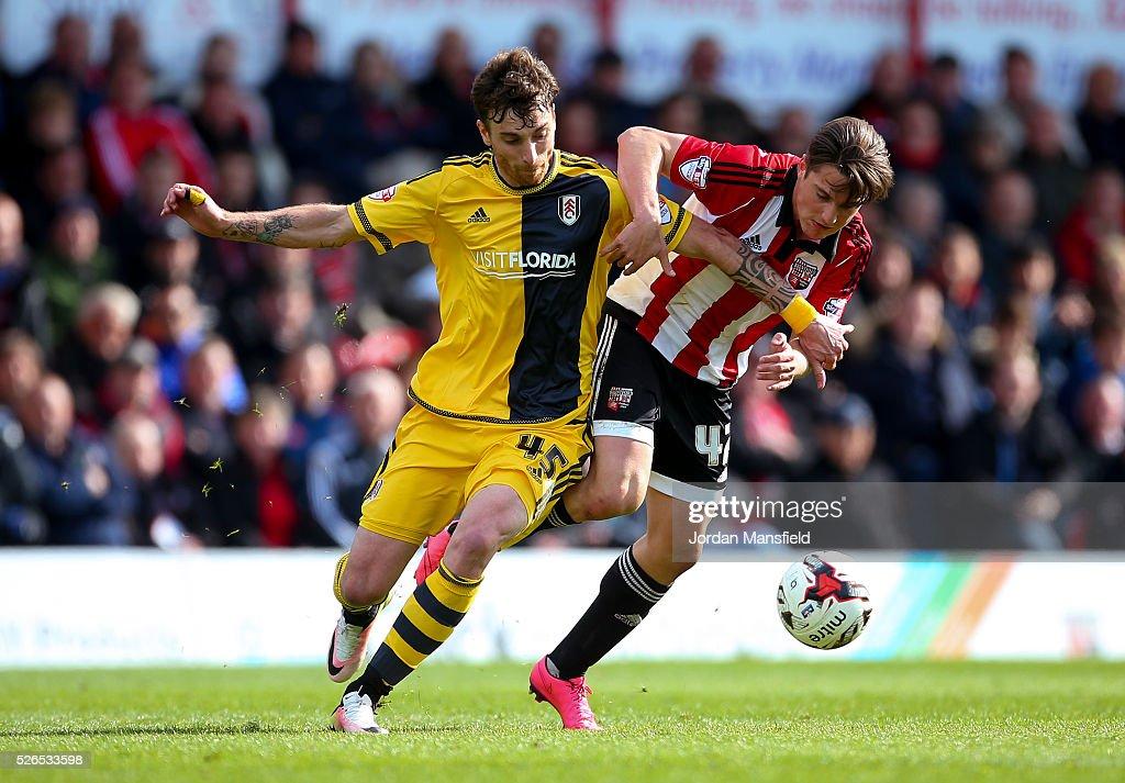 Brentford v Fulham - Sky Bet Championship