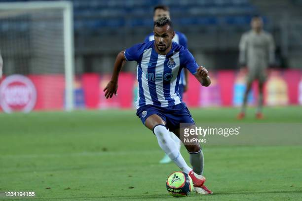 Fernando Andrade of FC Porto in action during the pre-season friendly football match between FC Porto and Lille OSC at the Algarve stadium in Loule,...