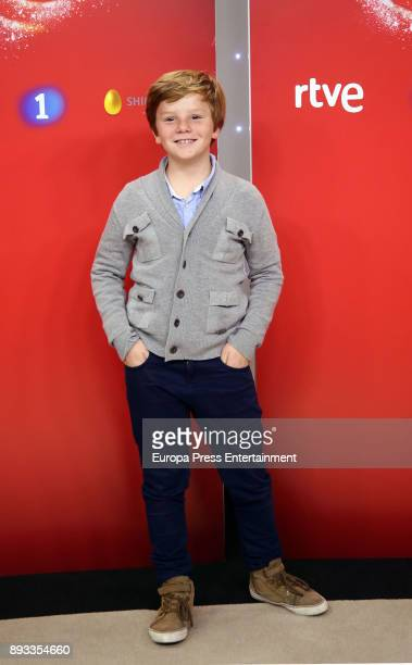 Fernando attends the presentation of a new seson of 'Masterchef Junior' at TVE studios on December 14 2017 in Madrid Spain