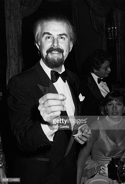 Fernando Botero attends Best Awards Dinner Gala on December 12 1985 at the Pierre Hotel in New York City