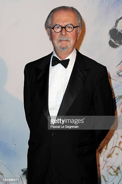 Fernando Botero attends the 'Bal De La Rose Du Rocher' in aid of the Fondation Princess Grace on the 150th Anniversary of the SBM at Sporting...