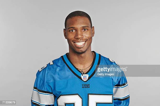Fernando Bryant of the Detroit Lions poses for his 2006 NFL headshot at photo day in Detroit Michigan