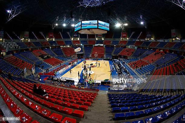 Fernando Buesa Arena waiting for the match during the 2016/2017 Turkish Airlines EuroLeague Regular Season Round 4 game between Baskonia Vitoria...