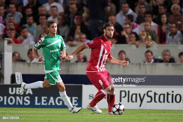 Fernando CAVENAGHI Bordeaux / Maccabi Haifa Champions League 2009/2010 Stade Chaban Delmas Bordeaux