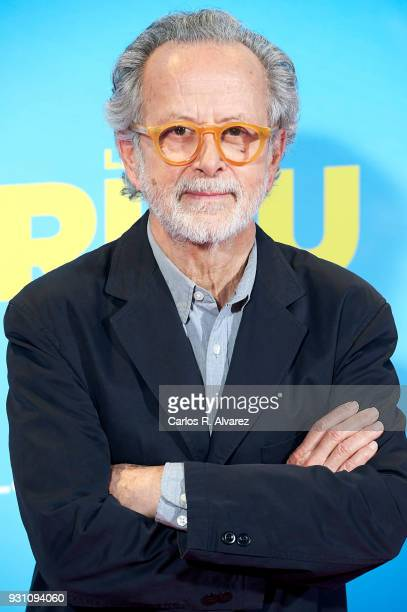Fernando Colomo attends 'La Tribu' premiere at the Capitol cinema on March 12 2018 in Madrid Spain