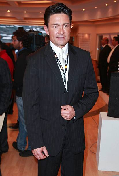 Fernando Colugna poses for a photo during the presentation of the campaign Una Gota de Agua Una Gota de Vida at Televisa San Angel on January 09,...