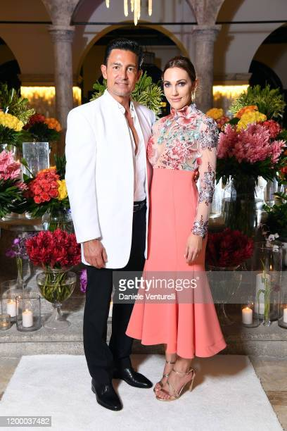 Fernando Colunga and Meryem Uzerli attend Cana Dorada Film Music Festival Soft Opening Dominican Night on January 16 2020 in Punta Cana Dominican...