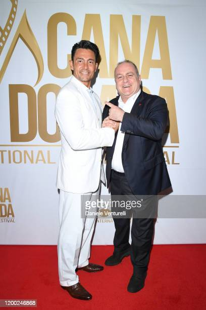 Fernando Colunga and Pascal Vicedomini attend Cana Dorada Film Music Festival White Gala Latin Night on January 17 2020 in Punta Cana Dominican...
