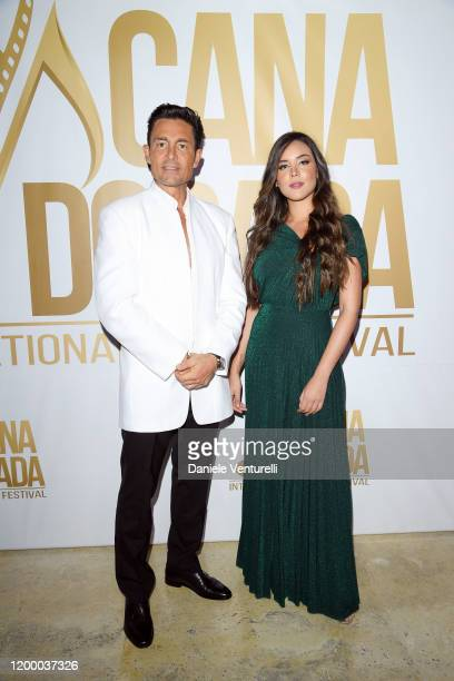 Fernando Colunga and Raquel Flores attend Cana Dorada Film Music Festival Soft Opening Dominican Night on January 16 2020 in Punta Cana Dominican...