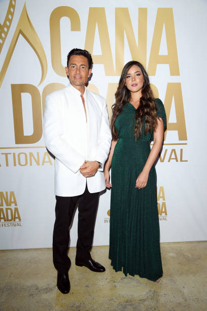 Fernando Colunga and Raquel Flores attend Cana Dorada Film & Music Festival - Soft Opening: Dominican Night on January 16, 2020 in Punta Cana,...