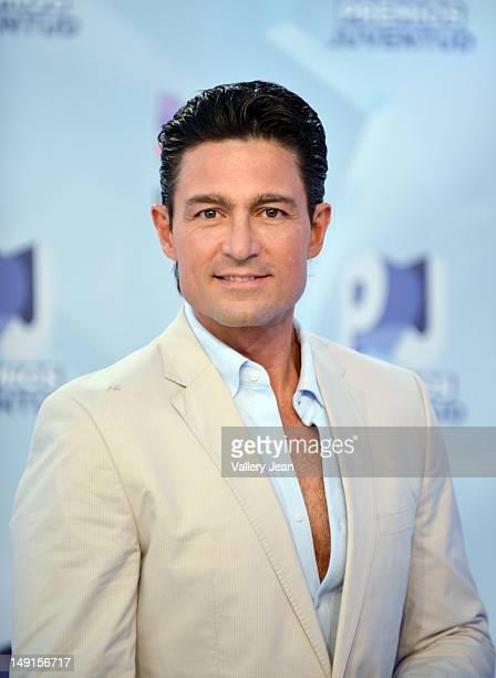 Fernando Colunga arrives at Univision's Premios Juventud Awards at Bank United Center on July 19 2012 in Miami Florida
