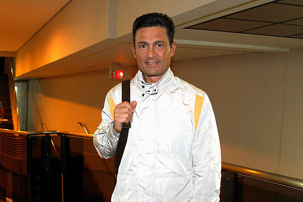 Fernando Colunga arrives to perform in 'Obscuro Total' At Bellas Artes on March 2, 2014 in San Juan, Puerto Rico.