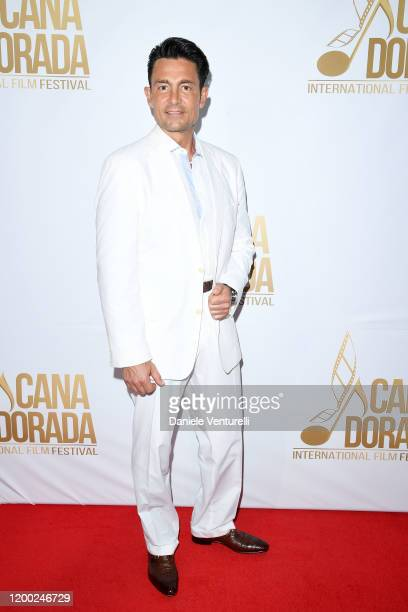 Fernando Colunga attends Cana Dorada Film Music Festival White Gala Latin Night on January 17 2020 in Punta Cana Dominican Republic
