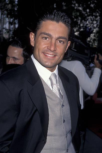 Fernando Colunga attends Cristina Saralegui Walk of Fame Ceremony on November 4, 1999 at the Hollywood Walk of Fame in Hollywood, California.