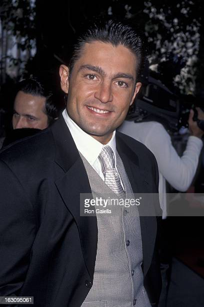 Fernando Colunga attends Cristina Saralegui Walk of Fame Ceremony on November 4 1999 at the Hollywood Walk of Fame in Hollywood California
