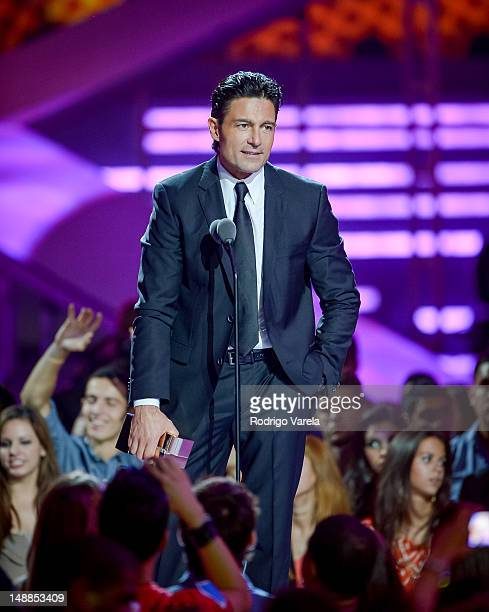 Fernando Colunga onstage during the Univision's Premios Juventud Awards at Bank United Center on July 19 2012 in Miami Florida