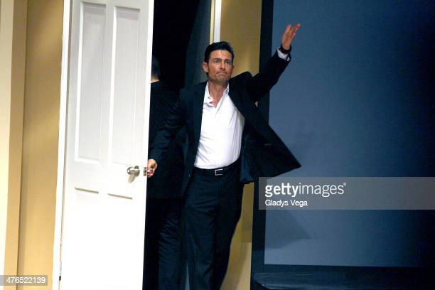 Fernando Colunga performs in 'Obscuro Total' At Bellas Artes on March 2 2014 in San Juan Puerto Rico