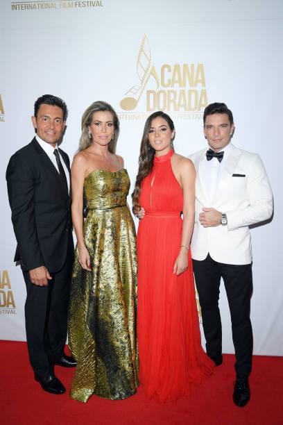 Fernando Colunga, Raquel Bernal, Raquel Flores and Julián Gil attend Cana Dorada Film & Music Festival - Closing Gala Dinner: Honoring Avi Lerner on...