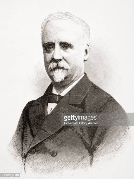 Fernando CosGayón y Pons 1825 1898 Spanish journalist and politician From La Ilustracion Española y Americana published 1892