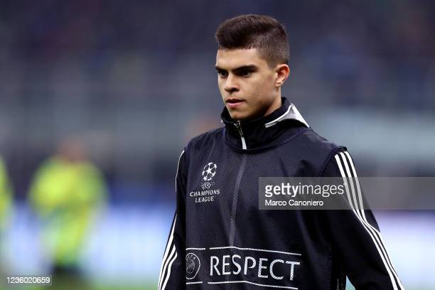Fernando Costanza of FC Sheriff during warm up before the Uefa Champions League Group D match between FC Internazionale and FC Sheriff . Fc...