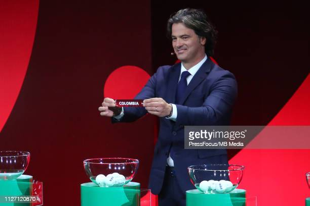 Fernando Couto at the draw for the FIFA U20 World Cup Poland 2019 on February 24 2019 in Gdynia Poland