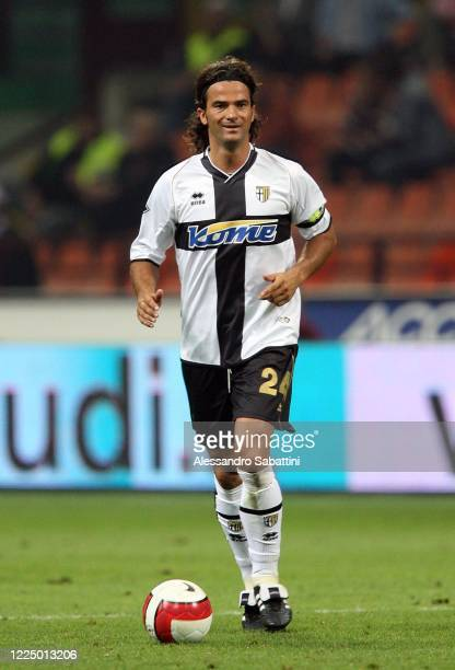Fernando Couto of Parma Calcio in action during the Serie A 2007 Italy