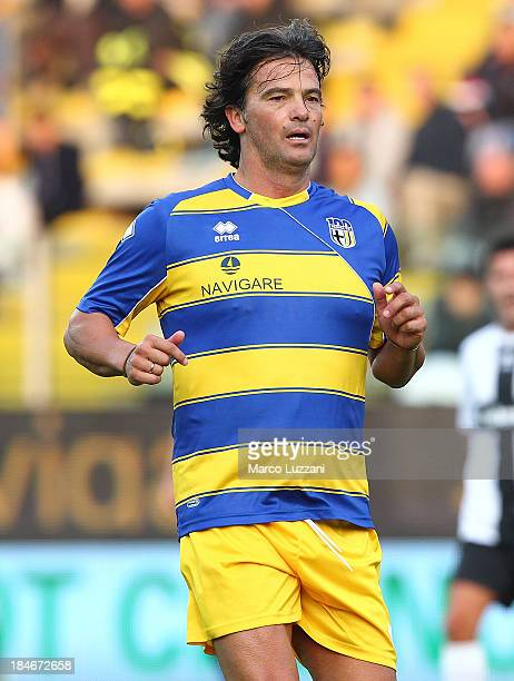 Fernando Couto of Stelle Gialloblu looks on during the 100 Years Anniversary match between Stelle Crociate and US Stelle Gialloblu at Stadio Ennio...