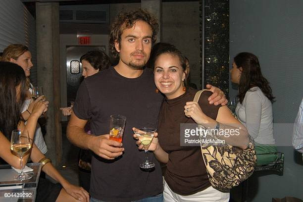 Fernando CwilichGil and Gigi Russo attend ECLIPSE and ZAGAT SURVEY 2006 'Dare to Dine Guide' Launch Party at Morimoto on August 15 2006 in New York...
