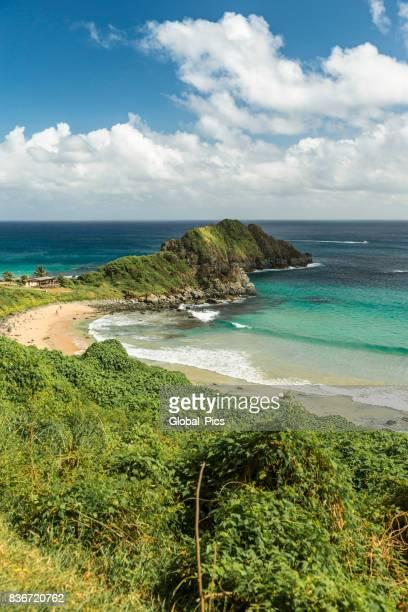 fernando de noronha - brazil (praia do cachorro and praia do meio) - natal brazil stock pictures, royalty-free photos & images