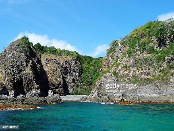 fernando de noronha island - rodrigo pitorri stockfoto's en -beelden