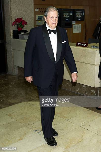 Fernando Falco attends a dinner in honour of 'Mariano de Cavia', 'Mingote' and 'Luca de Tena' awards winners at ABC on December 13, 2016 in Madrid,...