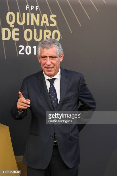 Fernando Fantos Portuguese National team head coach during the Quinas de Ouro 2019 awards ceremony at Pavilhao Carlos Lopes on September 2, 2019 in...