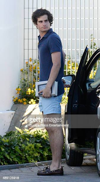 Fernando FitzJames Stuart is seen on July 25 2015 in Sotogrande Spain