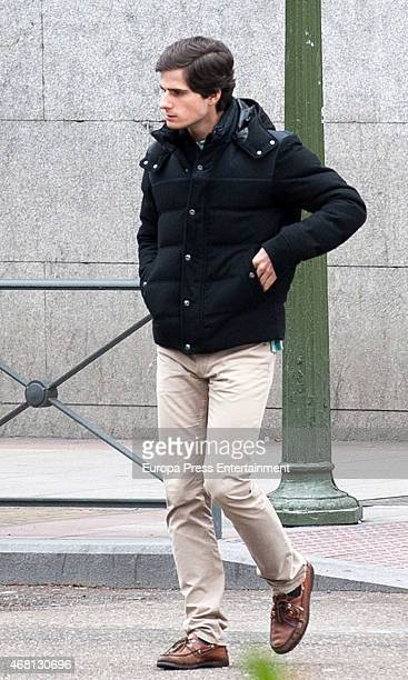 Fernando FitzJames Stuart is seen on March 21 2015 in Madrid Spain