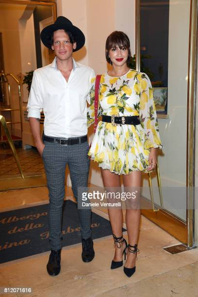 Fernando Garcia and Jackie Cruz attend 2017 Ischia Global Film Music Fest on July 10 2017 in Ischia Italy