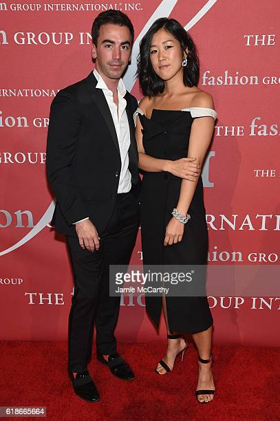 Fernando Garcia and Laura Kim attend 2016 Fashion Group International Night Of Stars Gala at Cipriani Wall Street on October 27 2016 in New York City