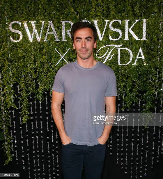 Fernando Garcia attends the 2018 CFDA Fashion Awards' Swarovski Award For Emerging Talent Nominee Cocktail Party at DUMBO House on May 16 2018 in New...