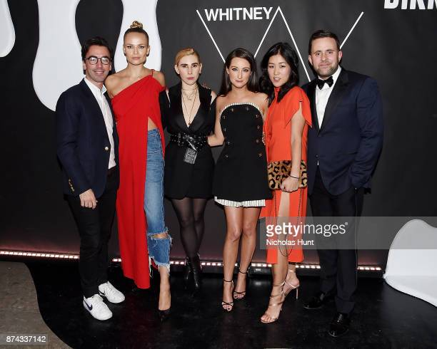 Fernando Garcia Natasha Poly Zosia Mamet Micaela Erlanger Laura Kim and Michael Carl attend the 2017 Whitney Art Party at The Whitney Museum of...