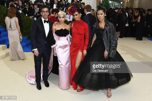 Fernando Garcia Zoe Kravitz Thandie Newton and Laura Kim attend the 'Rei Kawakubo/Comme des Garcons Art Of The InBetween' Costume Institute Gala at...