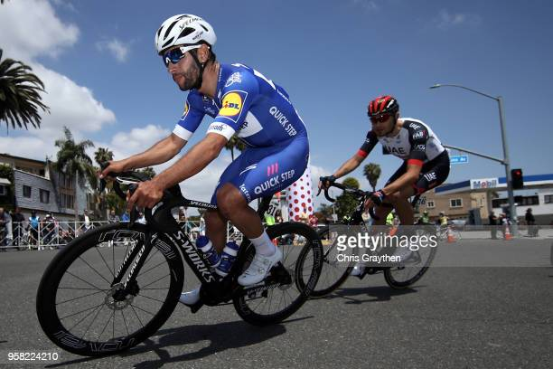 Fernando Gaviria of Colombia and Team Quick-Step Floors rides in the peloton during stage one of the 13th Amgen Tour of California 2018 a 134,5km...