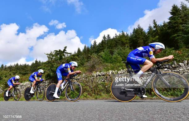 Fernando Gaviria of Colombia / Julian Alaphilippe of France / Bob Jungels of Luxembourg / Iljo Keisse of Belgium / Maximiliano Ariel Richeze of...