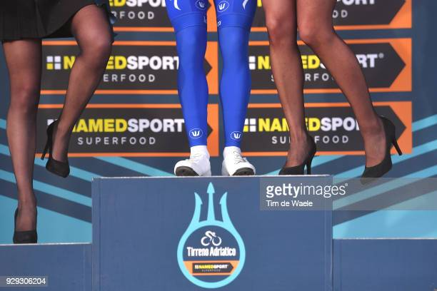 Fernando Gaviria of Colombia White Best Young Rider Jersey at the podium during the 53rd TirrenoAdriatico 2018 / Stage 2 a 172km stage from Camaiore...