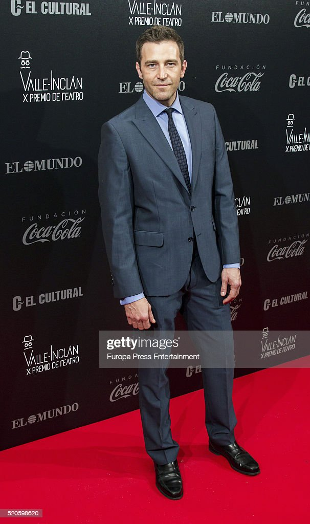 Fernando Gil attends the Valle-Inclan Theatre Awards at Teatro Real on April 11, 2016 in Madrid, Spain.